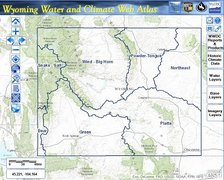 Wyoming Water and Climate Web Atlas