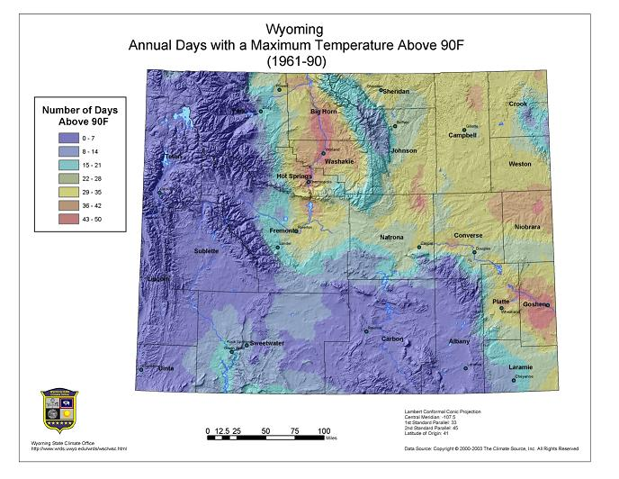 Wyoming Climate Atlas
